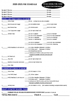 2020 2021 Registration Fees