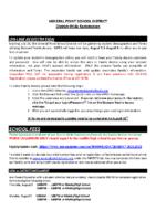 2021-2022 Registration Letter