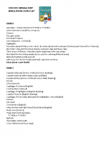 2020-21 MS Supply List