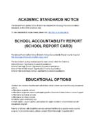 21-22 Academic Standards