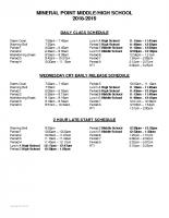 Bell Schedule (1)