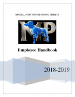 Employee Handbook 18-19