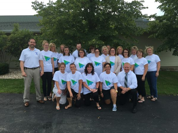 Mineral Point staff that attended PLC institute