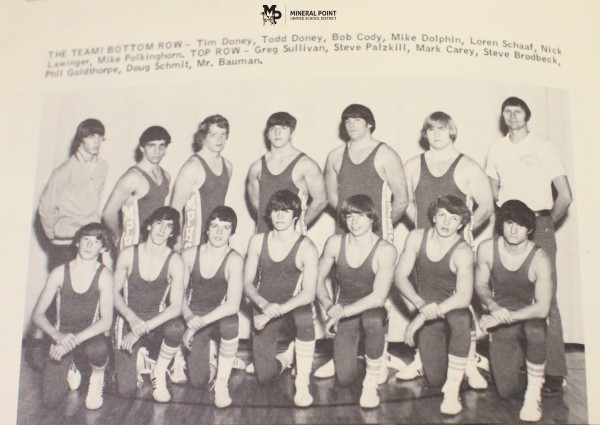 The 1974-75 MPHS team.