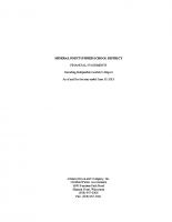 Mineral Point Unified School District June 30, 2015 Audit Report