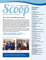 Middle School Scoop March 2014