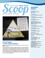 Middle School Scoop Apr 2014