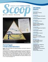 Middle School Scoop Apr 2014