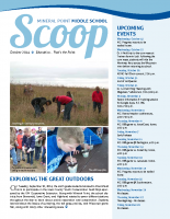 Middle School Scoop Oct 2014