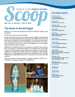 Middle School Scoop April 2015