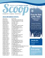 Middle School Scoop Dec 2015