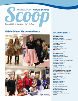 Middle School Scoop Oct 2015