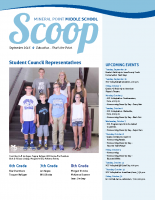 Middle School Scoop Sept 2015