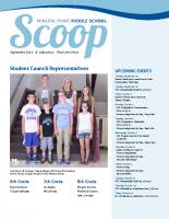 Middle School Scoop Sept 2015