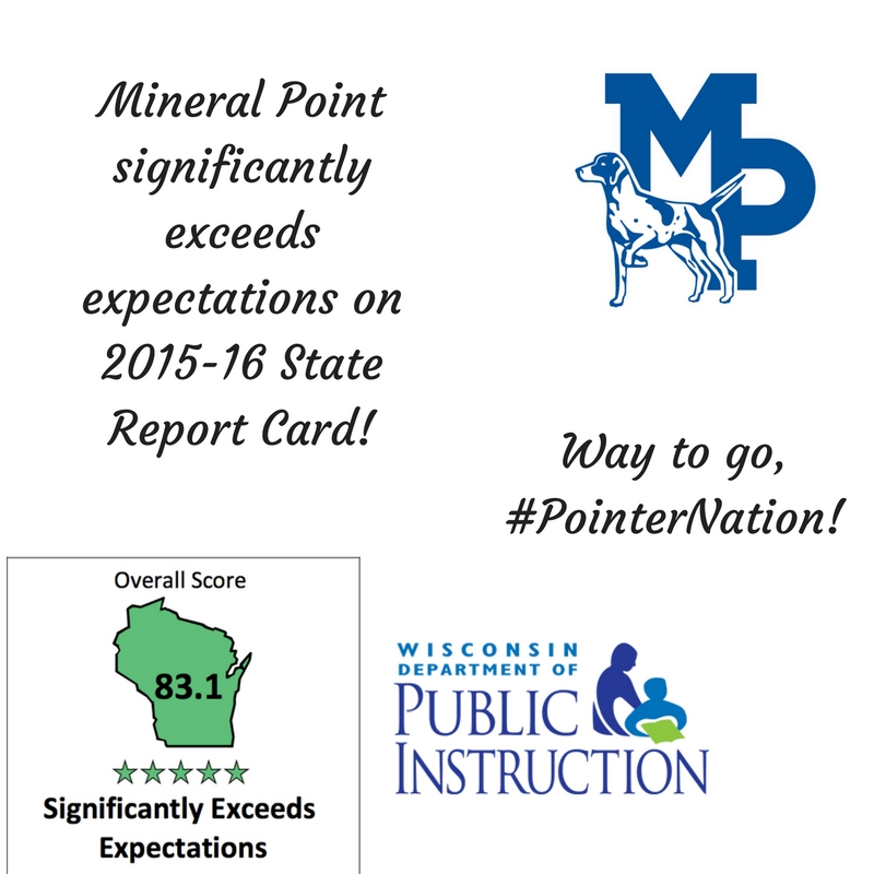 Mp Earns Five Star State Report Card Rating Mineral Point School