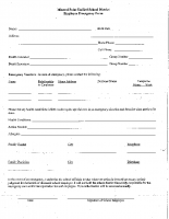 Employee Emergency Form