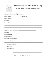 Field Trip Request Form